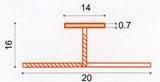 профиль для стеновой панели